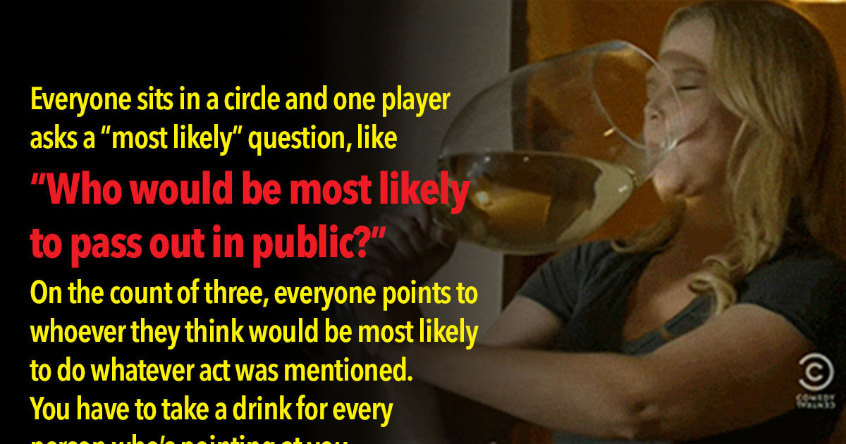 11 Drinking Games That Are Better Than Beer Pong