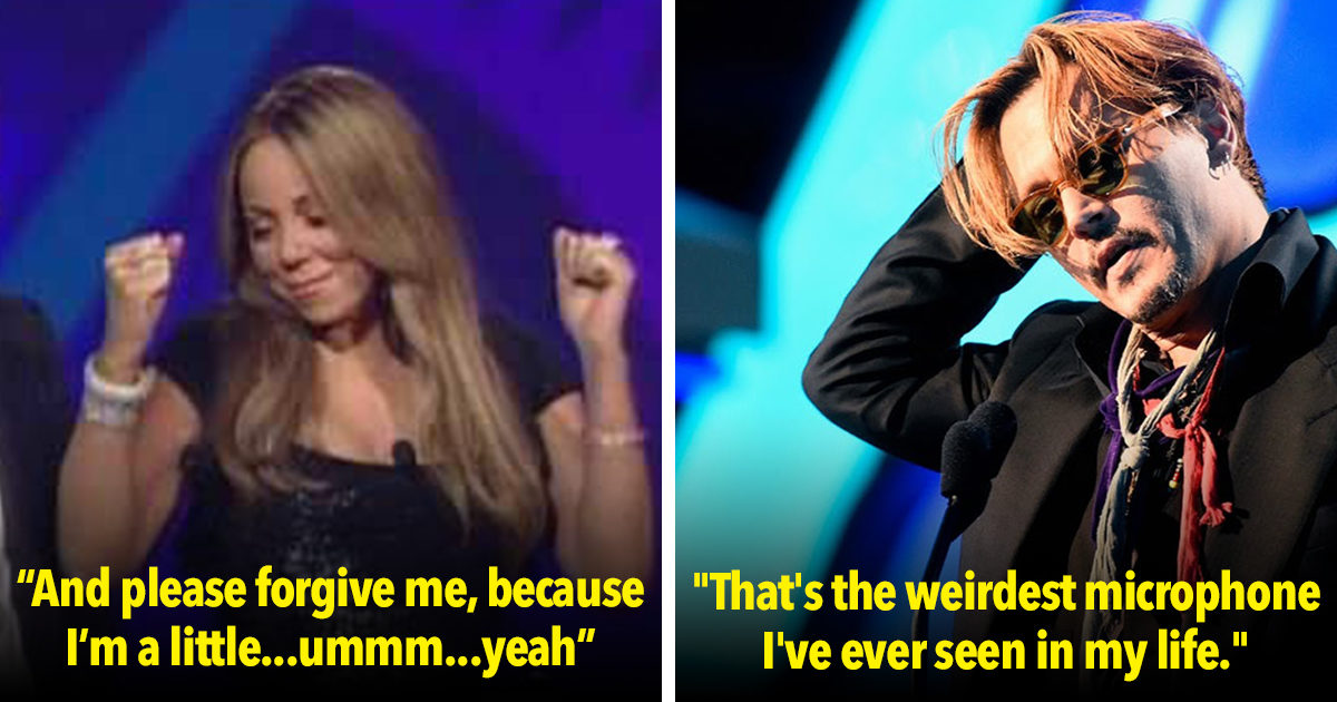 15 of the Drunkest Moments In Award Show History