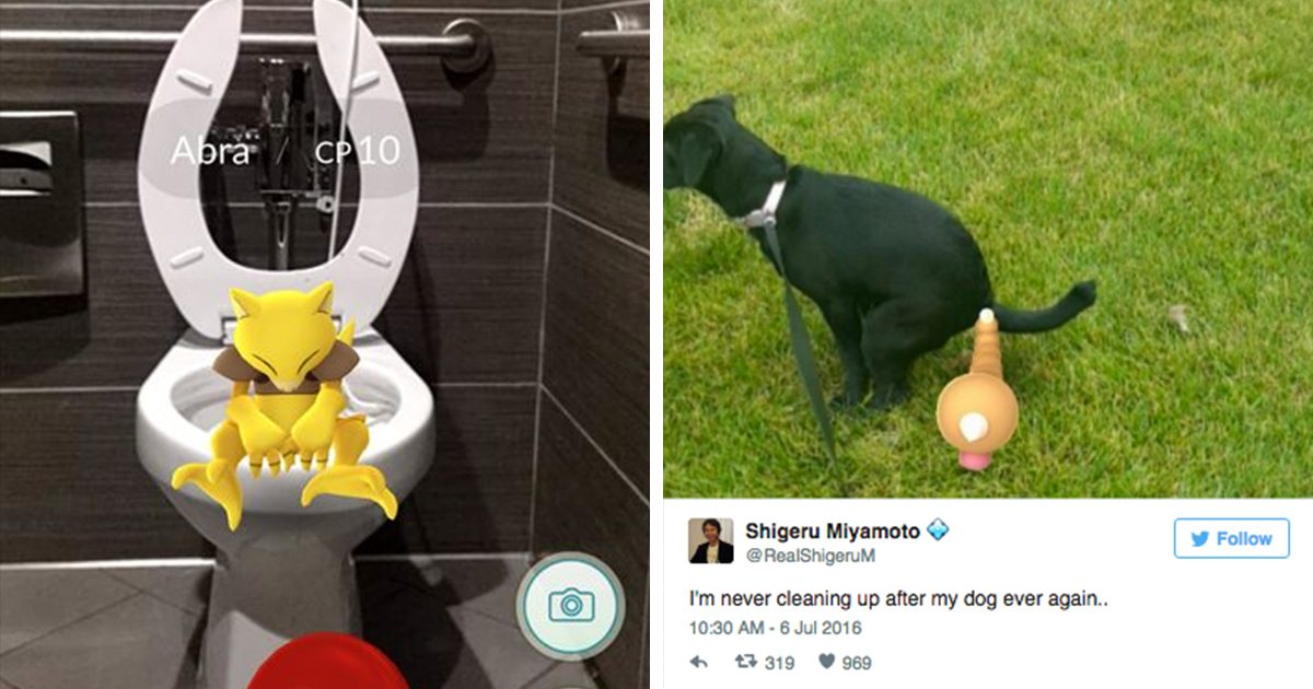 24 Screenshots That Prove There's No Wrong Time To Play Pokémon Go