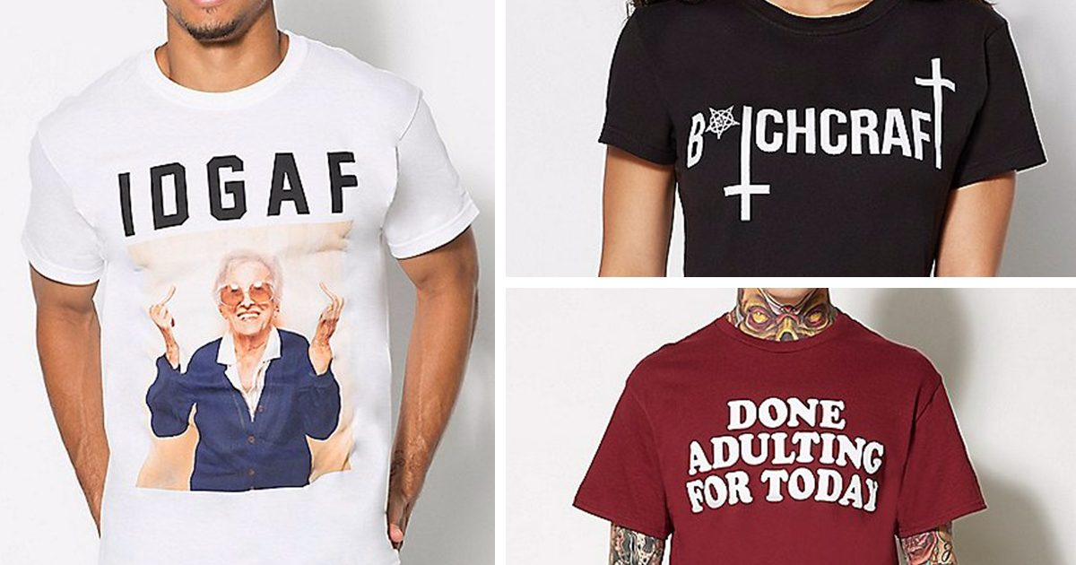 The 16 Best Tees For The Sarcastic People In Your Life