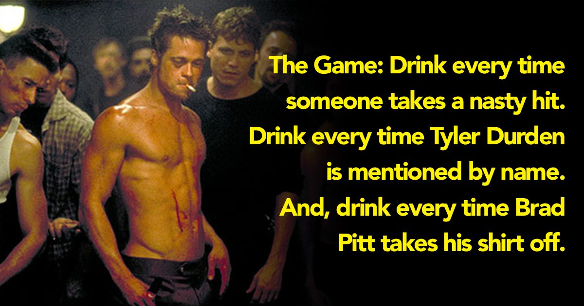 7 Iconic Films – And The Drinking Games You Should Play When You Watch Them